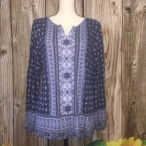 Style & Co Patterned Top